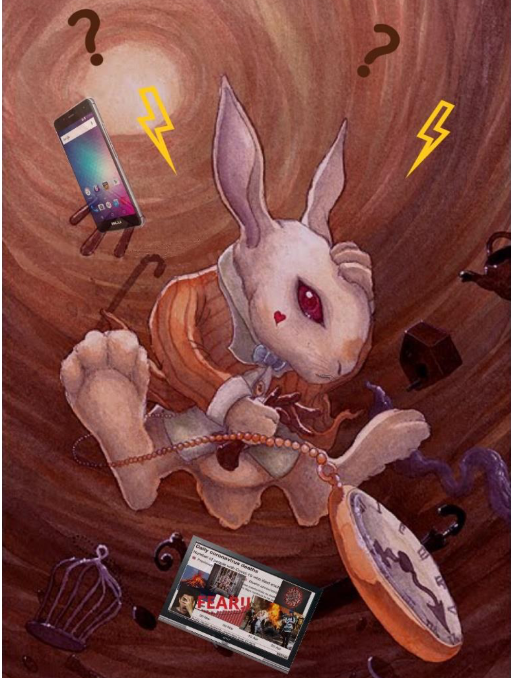 April 17, 2021 Healing Group Meeting – Surviving the Fall Down the Rabbit Hole
